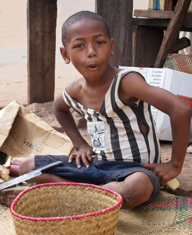 Sugarcane Boy