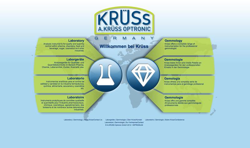 Landing Page A.Krüss Optronic